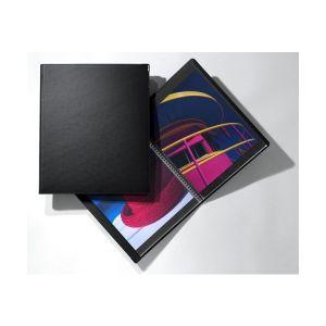 Book à cahier spirale CLASSIC S142 + cahier 20 pochettes Cristal Laser Réf. S501 - 30x42cm