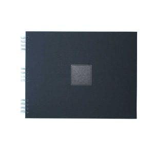 Album photo à spirale Jaipur Noir 35x28cm - 30 feuillets noirs 250gr - F022011