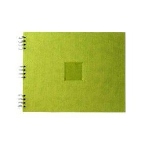 Album photo à spirale Jaipur Vert 35x28cm - 30 feuillets noirs 250gr - F022012