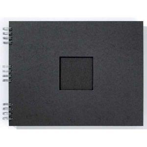 Album photo Marmara Noir 35x28cm - 30 feuillets noirs 250gr - F005103