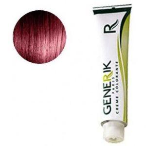Générik Coloration Sans amoniauqe N°5.62 Chatain Clair Rouge Irisé 100 ML