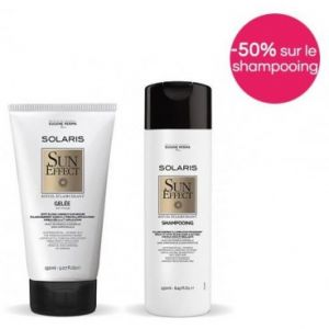 Pack Solaris Gelée Effet Soleil 150 ML + Shampooing Eclaircissant 250 ML