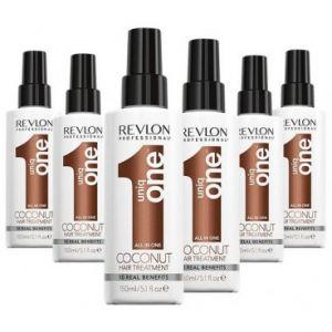 Pack 6 Sprays Uniq One Coconut Revlon 150 ML
