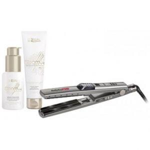 Pack Lisseur Pro Vapeur UltraSonic Cheveux épais