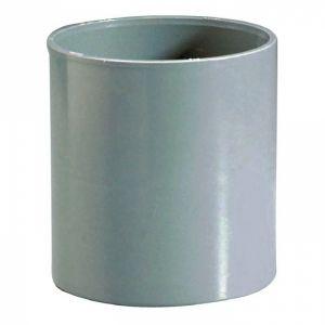 Raccord PVC gris - Femelle Ø 125 mm - Girpi