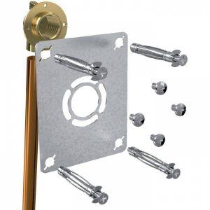 Sortie de cloison simple à souder - Cuivre Ø 14 mm - F 1/2' - Robifix - Watts industries
