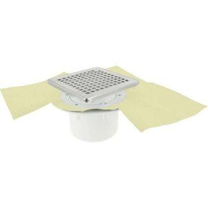 Siphon Vertical pour douche carrelée - 150 x 150 mm - Docia Sicax - Nicoll