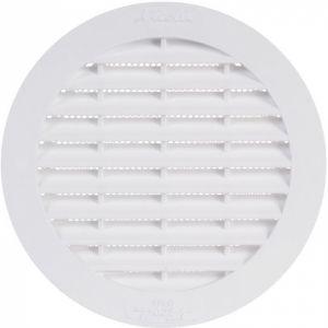 Grille d'aération ronde - Ø 148 mm - Avec moustiquaire - Girpi