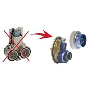 Kit cartouche Eurotherm Tx1 + kit Tk1300 - Watts industries