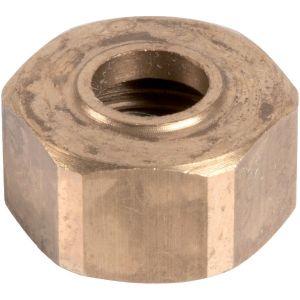 Écrou laiton hexagonal à visser - F 3/8' - Ø 8 mm - Comap