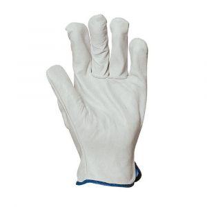 Gants de manutention en cuir de buffle Eurotechnique 2240 (lot de 10 paires de gants)