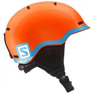 Salomon - Kid´s Grom - Casque de ski taille 49-53 cm, noir