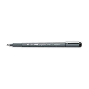 Stylo feutre Staedtler Pigment liner 308 - pointe biseau 2mm - noir