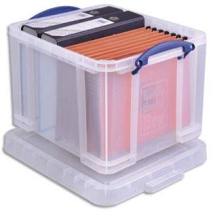 Boite rangement dossiers suspendus comparer 40 offres for Boire de rangement avec couvercle versailles