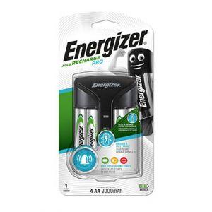 Chargeur de piles universel Energizer pour 2 ou 4 AA et AAA - livré avec 4 piles rechargeables AA 2000 mAh