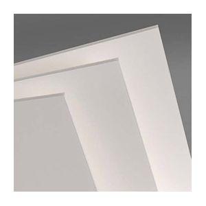 Feuille de carton plume Canson - 50 x 65cm - épaisseur 5mm - blanc