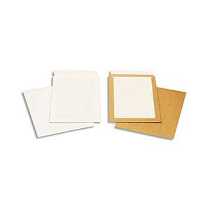 Pochettes blanches auto-adhésives dos cartonné - 229 x 324 mm - 120g - boîte de 100