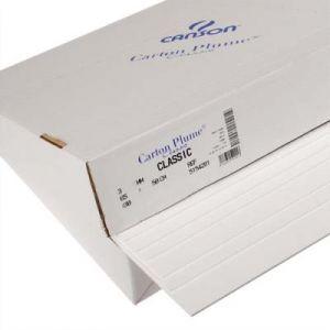 Feuille de carton plume Canson - 70 x 100 cm - épaisseur 5mm - blanc