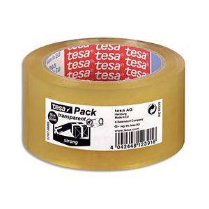 Ruban adhésif d'emballage Tesa - polypoprylene - transparent - qualité supérieure - 60 micr - 50x66m