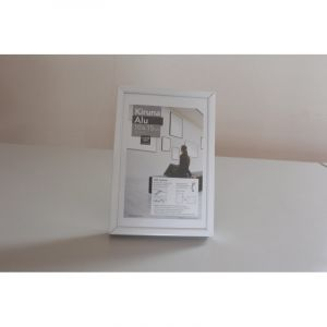 Cadres Kiruna Alu I Love Art (Exclusivité), 10 x 15cm, Blanc