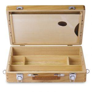 Coffret mallette en bois I Love Art (Exclusivité), Format extérieur : 38,5 x 27,4 x 8,3 cm, Format intérieur : 35,8 x 25 x 6,9 cm