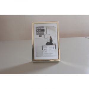 Cadres Kiruna Alu I Love Art (Exclusivité), 10 x 15cm, Or