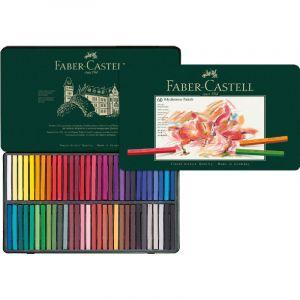Coffret pastels carré Polychromos Faber Castell, 60 pastels