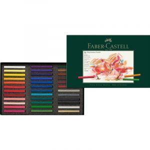 Coffret pastels carré Polychromos Faber Castell, 36 craies