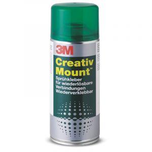 Colle aérosol Creativ Mount 3M, 400ml