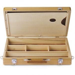 Coffret mallette en bois I Love Art (Exclusivité), Format extérieur : 45,7 x 30 x 8 cm, Format intérieur : 43,5 x 27,4 cm