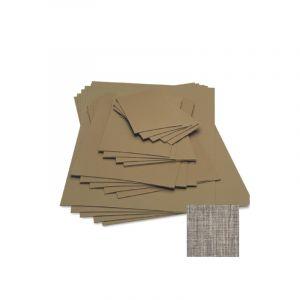 Plaque de Linoléum DLW, 13 x 18 cm - Epaisseur 3,2mm - Brun