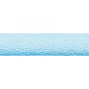 Papier crépon Maildor 40 en rouleau, 50cmx2m - 30g/m², Bleu turquoise
