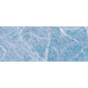 Papier de soie de paille Pulsar, 50 x 70cm - 25g/m² - Feuille, Bleu ciel
