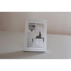 Cadres Kiruna Alu I Love Art (Exclusivité), 13 x 18cm, Blanc