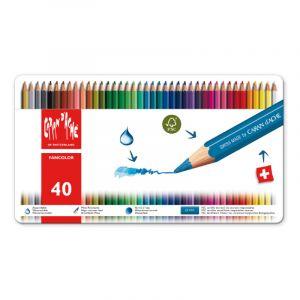 Coffrets Fancolor, 40 crayons
