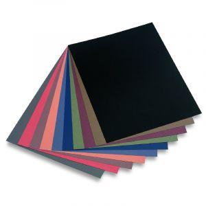 Assortiment de papiers nuances foncées Mi-Teintes Canson, 50x65cm (Raisin) - 160g/m²