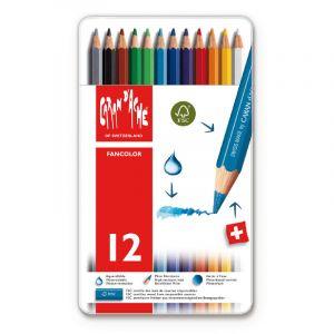 Coffrets Fancolor, 12 crayons