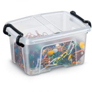 Boîtes vides en plastique, 94 x 66 x 57 mm, 0,4 litres
