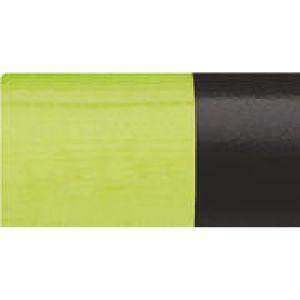 Pastels cire & Huile Posca, Vert pomme