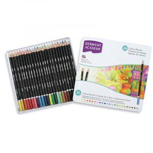 Coffret Derwent Academy - couleurs assorties, 24 couleurs