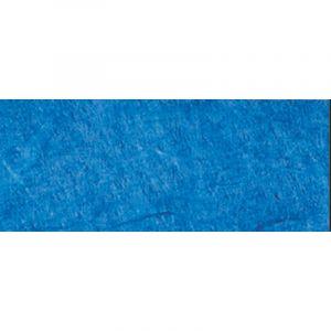 Papier de soie de paille Pulsar, 50 x 70cm - 25g/m² - Feuille, Bleu roi