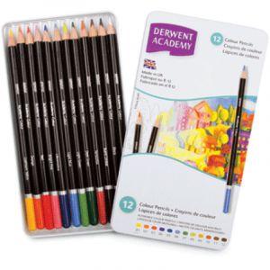 Coffret Derwent Academy - couleurs assorties, couleurs assorties