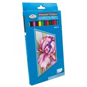 Coffrets de crayons aquerellables Royal Langnickel, 12 crayons