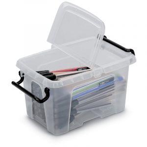 Boîtes vides en plastique, 153 x 94 x 102 mm, 1,7 litres