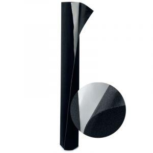 Tissu Velcro en velours noir, 160cmx1m