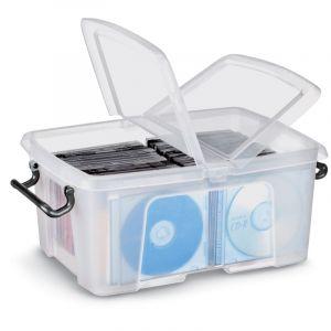 Boîtes vides en plastique, 221 x 315 H 156 mm, 12 litres