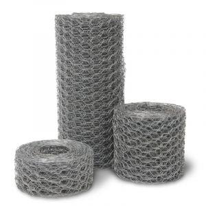 Rouleau de treillis métallique hexagonal, 500 mm