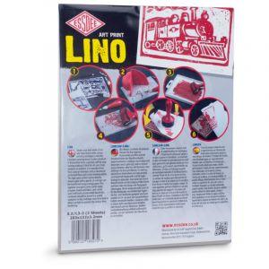 Plaque de linoléum, 20,3 x 15,2 cm - 2 plaques, Paquet de 2 pièces, 3,2 mm