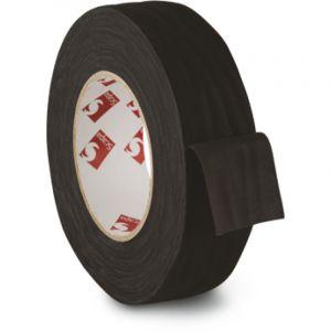 Toile fibranne adhésive, 38mm x 50m - Noir, Noir
