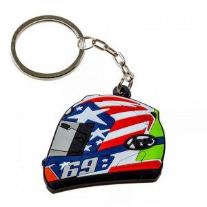 Porte-clés Casque Nicky Hayden 69 rouge
